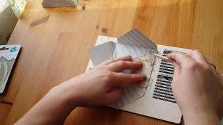 """Обзор доски для создания конвертов и открыток в комплекте с дыроколом угла """"Рукоделие"""""""