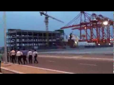 Sri Lanka's new port terminal