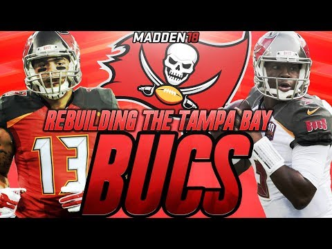 Madden 18 Connected Franchise | Rebuilding The Tampa Bay Buccaneers | Best Team of Madden 18!