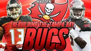 Madden 18 Connected Franchise | Rebuilding The Tampa Bay Buccaneers | Best Team of Madden 18! 2017 Video