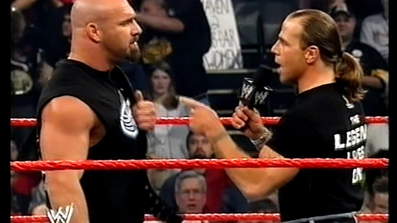 Goldberg Shawn Michaels Face Off 2003 10 13 Youtube