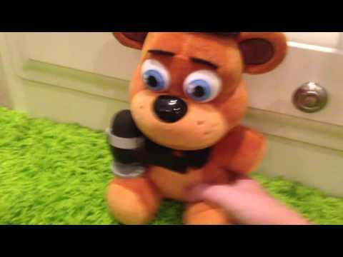 FNAF Plushes Singing FNAF World Song!