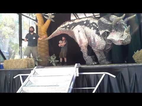 Erth's Dinosaur Show Puppets at the Dallas Zoo