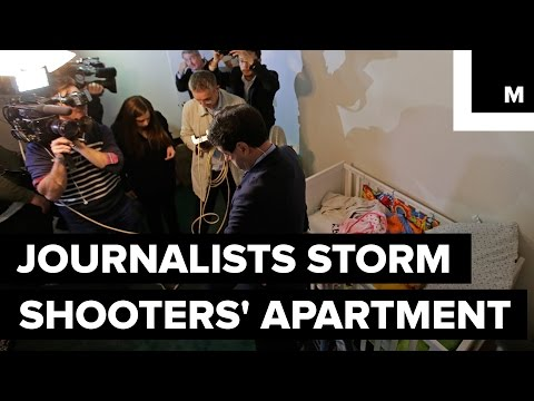 Journalists Storm San Bernardino Shooters' Apartment