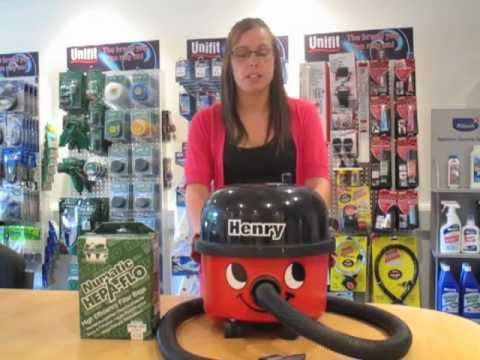 How To Change Your Numatic Henry Vacuum Cleaner Bags By