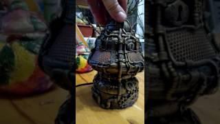 Стимпанк лампа проект 4