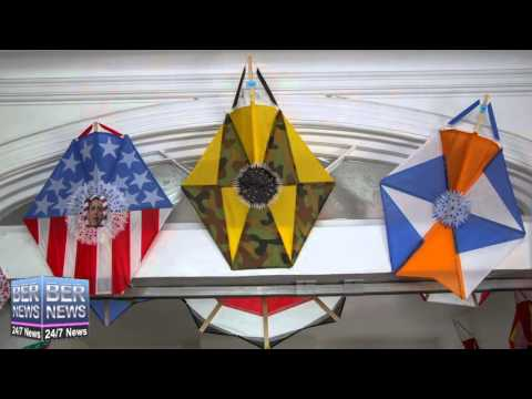 Salvation Army Harbour Light Kite Making Project, March 22 2016
