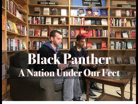 Passion Project Bookclub Presents - Black Panther: A Nation Under Our Feet by Ta-Nehisi Coates