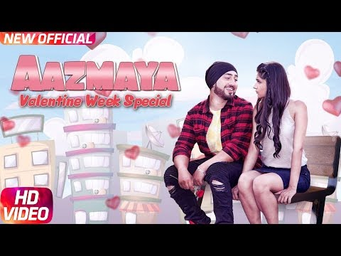 Aazmaya (Full Video) | AMJ Ft Kanika Maan | V-Jack (RLA) | Latest Punjabi Song 2018