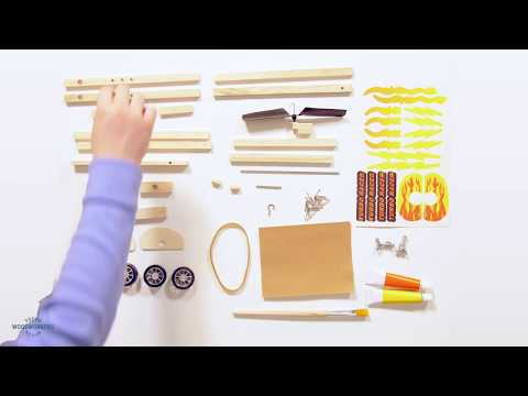 Build a Turbo Racer - Young Woodworkers Kit Club