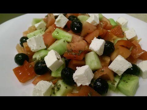 Салаты с сыром фета рецепты с фото простые и вкусные
