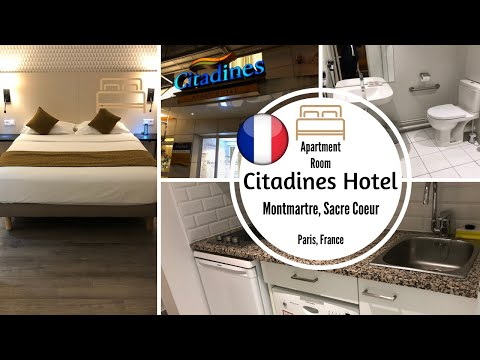 Citadines Hotel, PARIS, Apartment Room. MONTMARTRE