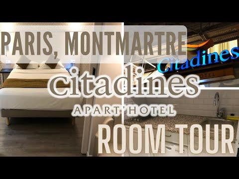 Citadines Hotel, PARIS, Apartment Room. MONTMARTRE