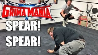 FAT YOUTUBER WRESTLES FORMER WWE STAR CURT HAWKINS IN CHAMPIONSHIP MATCH!