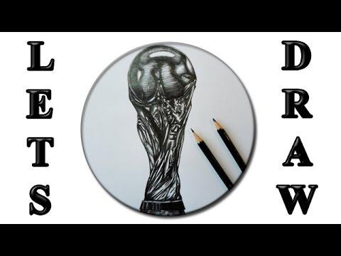 World Cup Wm Pokal Daily Drawing 0019 Hd Speeddrawing Artbydanny 2014