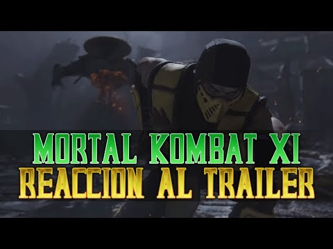 MK11   Mi Reacción al nuevo trailer oficial de Mortal Kombat 11 thumbnail