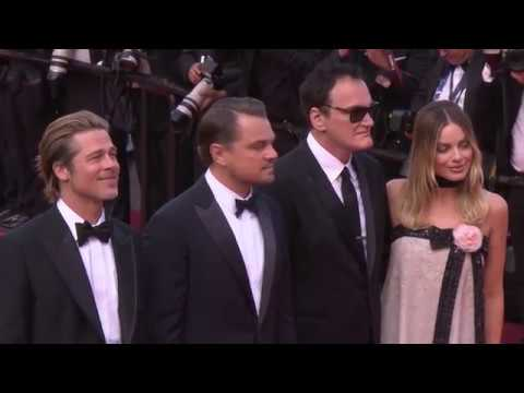 Once Upon A Time In Hollywood: Cannes Red Carpet Movie Premi