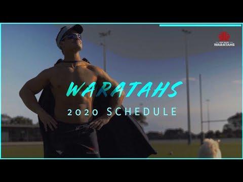 NSW Waratahs 2020 Schedule