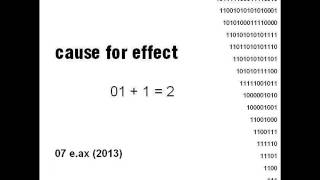 Cause For Effect - 01 + 1 = 2 (full album)