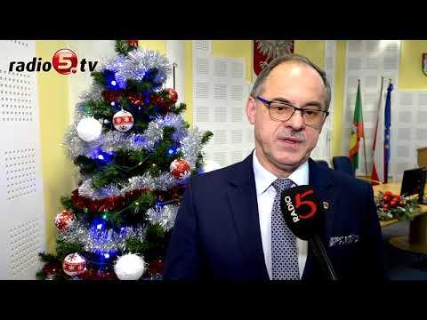 Świąteczne życzenia prezydenta Suwałk | Radio 5