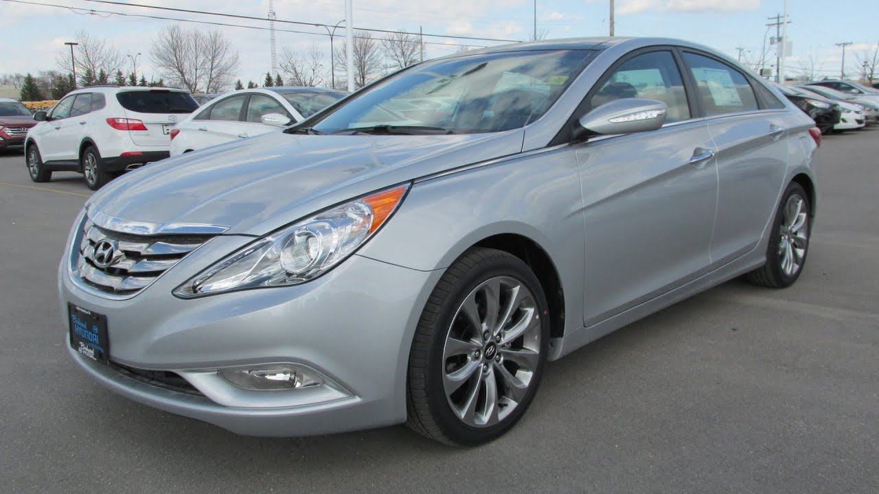 2013 Hyundai Sonata Limited 2 0T Navigation Start up