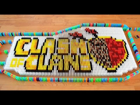 Thumbnail: Clash of Clans in 45,000 Dominoes