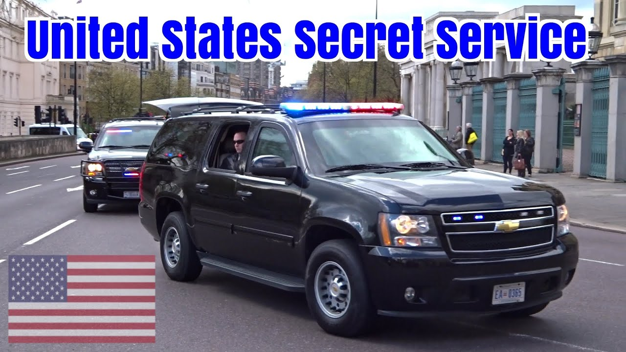 President Obama motorcade in London - Armored Chevrolet ...