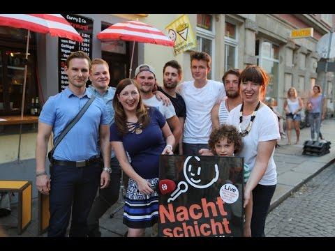 Nachtschicht: Der Schlussmacher aus Dresden