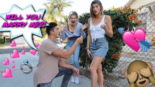 JATIE VLOGS WEDDING PROPOSAL!! *family REACTION w Josh & Katie!!*