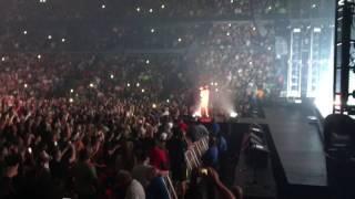Crowd Sings Humble to Kendrick Lamar in Detroit, MI in DAMN tour 2017