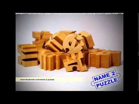 Name Puzzles and Pen Holders