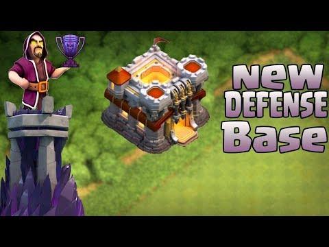 Clash Of Clans | NEW TH11  DEFENSE BASE 2017 | Farming / Trophy Base