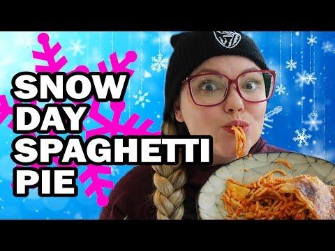 Snowday Spaghetti Pie - Corinne Vs The Cold