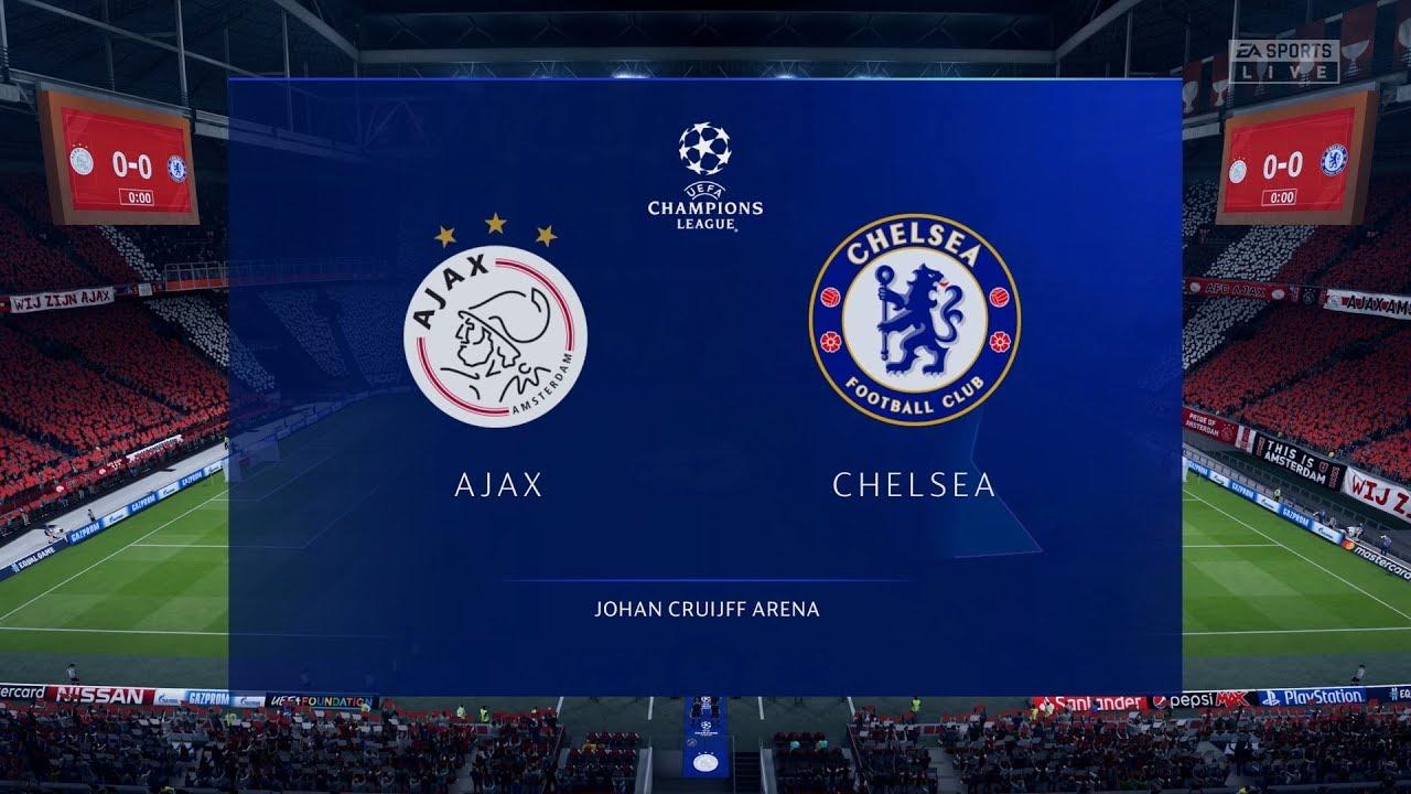 Fifa 20 Ajax Vs Chelsea Uefa Champions League Full Gameplay