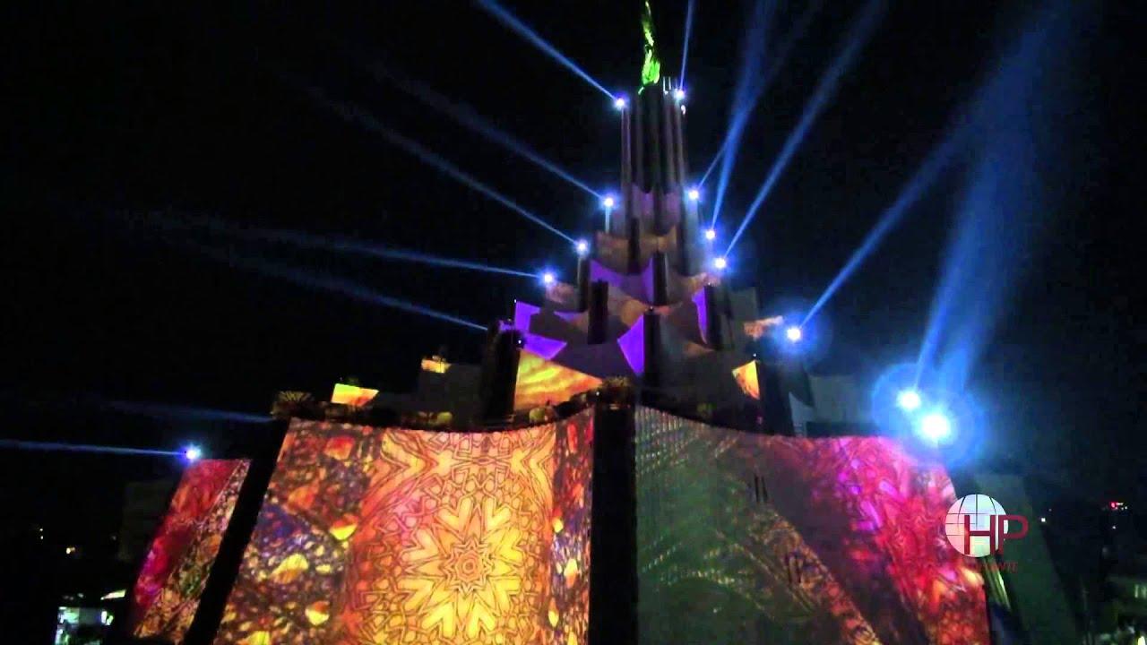 espect culo de luces templo la luz del mundo youtube On mundo del espectaculo internacional
