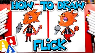 How To Draw Flick From Animal Crossing