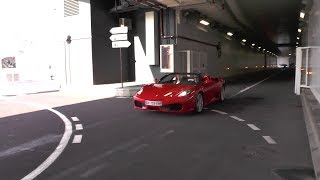 Ferrari 430 Spider w/Capristo exhaust - LOUD revs and accelerations !