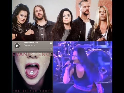 "Evanescence release new song ""Wasted On You""  off new ""The Bitter Truth"""