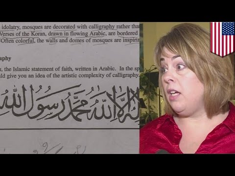 Virginia schools close after irate parents complain about Islamic homework assignment - TomoNews