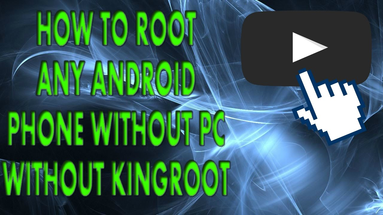 How to root your Android without kingroot and without PC√