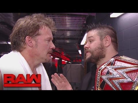 Chris Jericho confronts Kevin Owens: Raw, Oct. 17, 2016