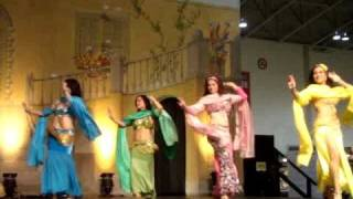 Egyptian Belly Dancers Finale -  Toronto -  the magic of colour and dance! Thumbnail
