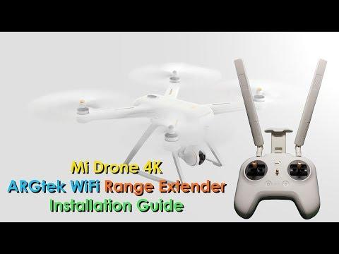 Mi Drone 4K - ARGtek WiFi Range Extender Full Installation Guide