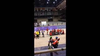 Gulf Coast Rollergirls of Lake Charles.La...........Exhibition on their new  Banked Track!
