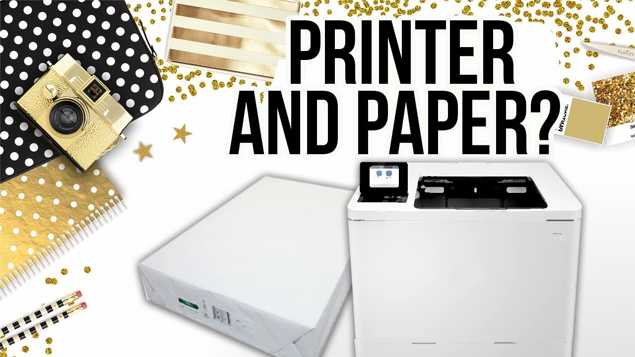 What Printer And Paper I Use For Chip Bags Etc Youtube