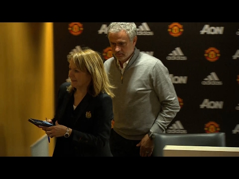 José Mourinho press conference lasts just 10 seconds after Manchester United win