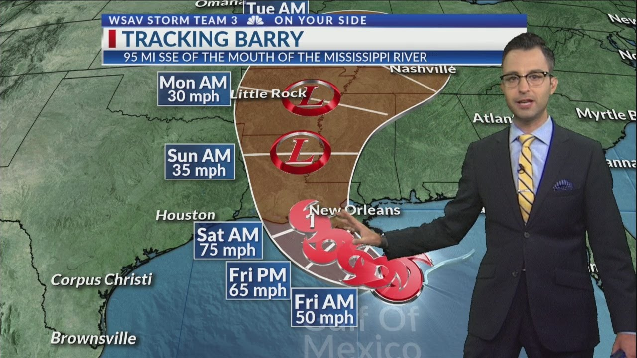 Storm Team 3 Tracking Barry
