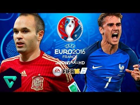 Spain vs. France | Final | Special Video! | UEFA Euro 2016 Simulation | FIFA 16
