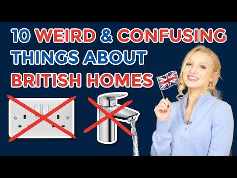 10 Weirdest & Most Confusing Things About British Homes