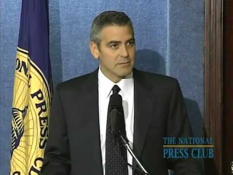 NPC Newsmaker: George Clooney and Barack Obama